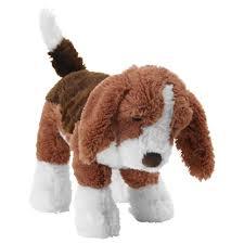 عروسک سگ قهوه ای
