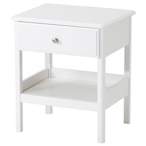 میز کنار تختی سفیدTYSSEDAL