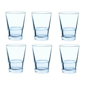 لیوان 6 تایی آبی