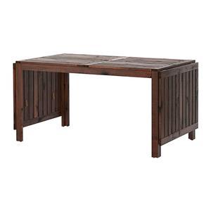 میز قهوه ای چوب ÄPPLARÖ