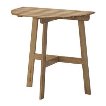 میز چوبی نیم دایره