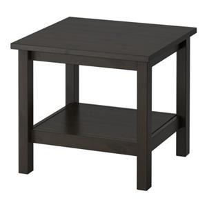 میز کنار دیوار مشکی قهوه ای