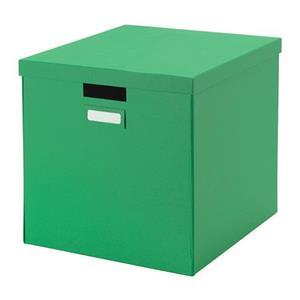 جعبه درپوش دار سبز
